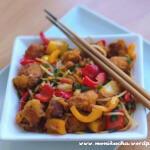 Wieprzowina w sosie słodko-kwaśnym po chińsku