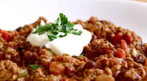 Chili con carne – danie prosto z Texasu.