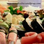 Sushi -listopadowe wyzwanie Daring Cooks
