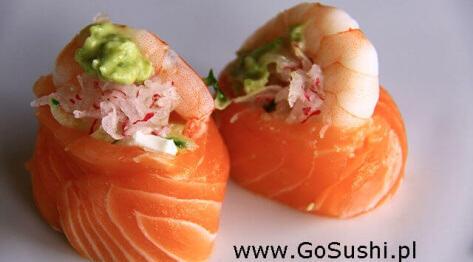 Podstawowe składniki  sushi