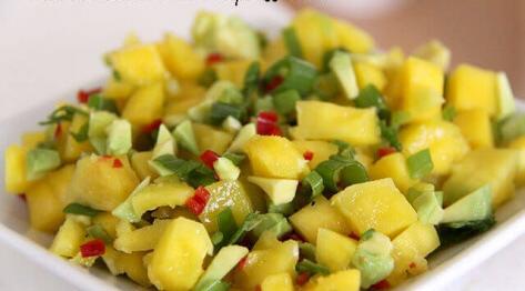 Salsa z mango na ostro