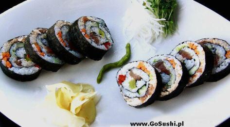Sushi – wyzwanie z Daring Kitchen