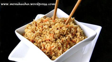 Egg fried rice czyli ryż po chińsku smażony