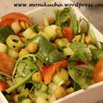 Marokańska sałatka z ciecierzycą