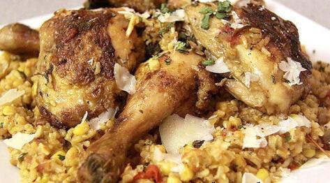 Ognisty kurczak