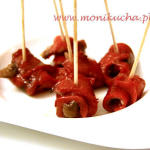 Pimientos Rojos con Anchoas czyli papryczki z anchois