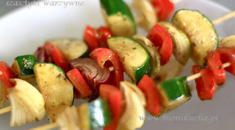 Grillowane szaszłyki warzywne