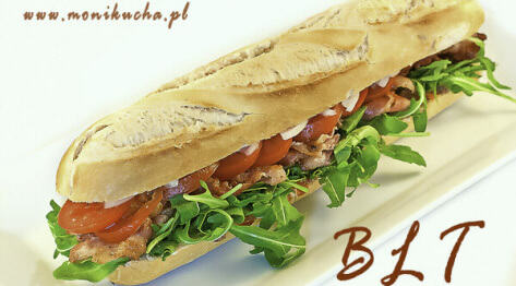 BLT – bacon, lettuce, tomato sandwich