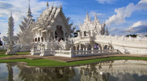 Chiang Rai, Tajlandia – White Temple – Biała Świątynia