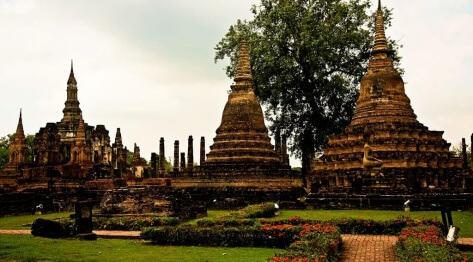 Sukhothai, Tajlandia – dawna stolica Królestwa Tajlandii, kompleks wpisany na listę Światowego Dziedzictwa UNESCO