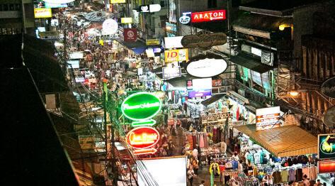Bangkok, Tajlandia po raz drugi, bo w Bangkoku jest tyle uroku – autobus Sukhothai -> Bangkok i hotele na Khao San Road