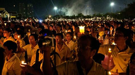 Bangkok, Tajlandia – Wielki Pałac Królewski w Bangkoku i Urodziny Króla Tajlandii