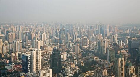 Nowy Bangkok, Tajlandia – zgubiony telefon, Baiyoke Sky Tower, Floating Market Restaurant and Buffet i tuk tuk w Bangkoku, czyli igła w stogu siana