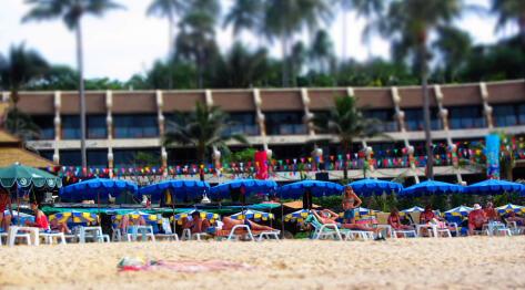 Phuket, Tajlandia – plaża Kata Beach, Karon Beach, autobusy i tuk-tuki na Phuket, Boże Narodzenie i Wigilia z przymrużeniam oka