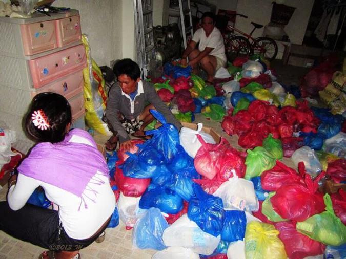 Akcja pakowania paczek u Antoniego