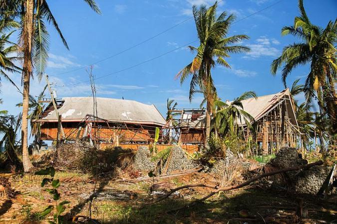 Domy przy lagunie, jednej z naszych ulubionych plaz