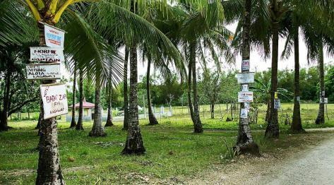 Filipiny, kampania wyborcza na wyspie Bantayan i wiec przedwyborczy u sołtysa w Marikabanie