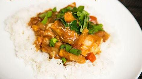 Ryba w sosie z tamaryndowca