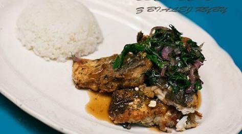 Escabeche z ryby po filipińsku