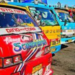 Cebu, Filipiny – Jeepney – filipiński fenomen – miejski środek transportu publicznego