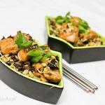 Ryba stir fry z imbirem – chińskie danie z woka na szybko