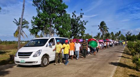 Pogrzeb na Filipinach – jak żegna się zmarłych w Santa Fe