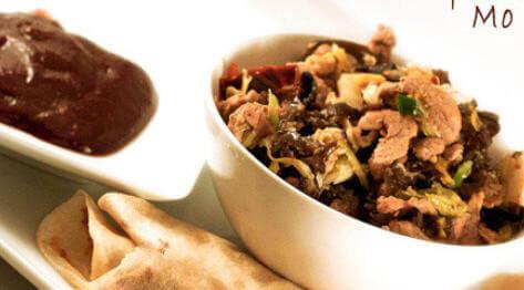 Wieprzowina Moo Shu – danie kuchni chińskiej, kolejne wyzwanie Daring Cooks